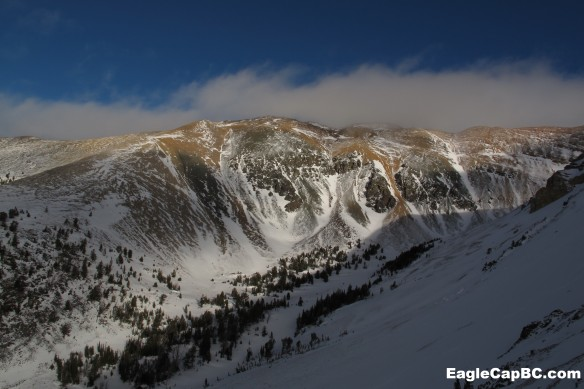 South side of Chief Joseph. We need alot more snow