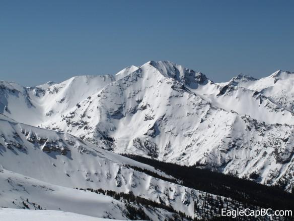 Sacajawea Peak's North Face
