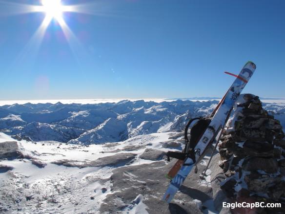 Summit of Matterhorn looking southwest