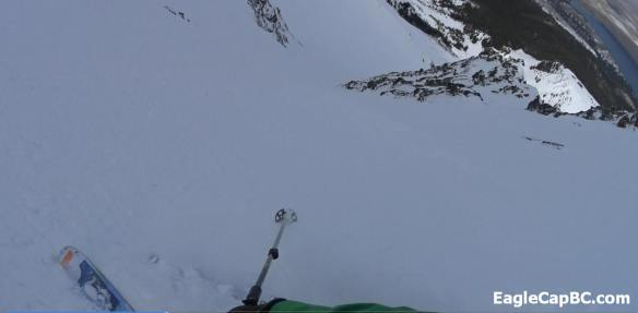 Boot top powder skied really well throughout